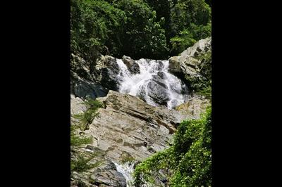 Quebrada Valencia Waterfalls near Santa Marta Colombia