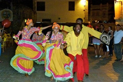 Traditional Dancing Cartagena Colombia