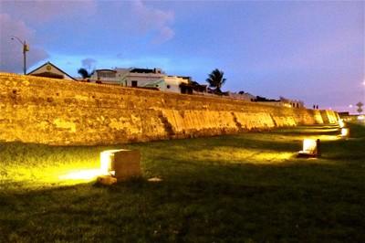 Cartagenas walled city