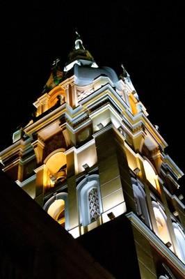 Beautiful Cartagena Cathedral at Night