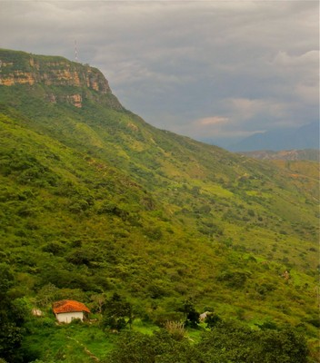 Chicamocha Canyon Colombia Sunset Tram18