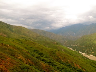 Chicamocha Canyon Colombia Sunset Tram13