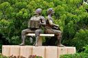 Vallenato Musician Statues.png