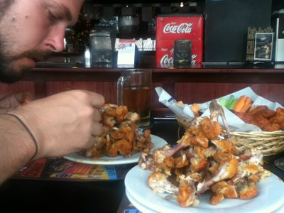 Ben and Chris Eat 72 Christmas Wings