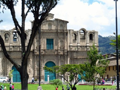 1218 - The plaza in Cajamarca Peru.JPG