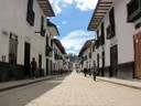 1971 The main drag in Chachapoyas Peru - everything was closed on Sunday..JPG